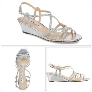 Nina Wedge Sandals
